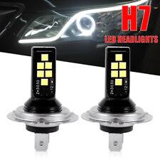 H7 Led Headlight Bulbs Conversion Kit Super High Low Beam 6000K White 200W 2Pcs