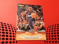 #120 Nazr Mohammed / Charlotte Bobcats / Panini 2009 trade card / NBA basketball