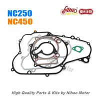 51 NC250 Parts Full Gasket kit ZONGSHEN Engine NC ZS177MM KAYO Asiawing Xmoto