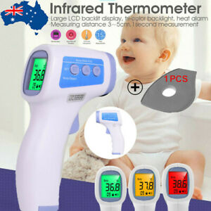 Digital Non-Contact Forehead Thermometer Adult/Baby infrared Temperature Gun