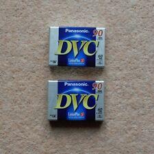 NEW 2x PANASONIC DVC 90 Min LP Mode Digital Video Cassette Tapes