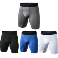 Mens Sports Gym Compression Shorts Dri fit Short Spandex Tights Breathable Boxer
