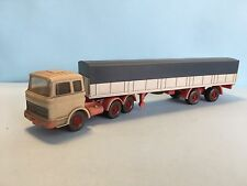 Wiking Vintage Mercedes Truck 1/87 Scale Rare/Selten Used Condition