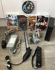 Nintendo Wii Console 5 game bundle Zelda Lego Batman Mario & Sonic Monster Trux