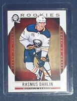 2018-19 O-Pee-Chee Coast to Coast Hockey - Rasmus Dahlin Rookie Card Print Error
