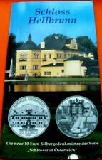 10  EURO  Silber Schloss  Hellbrunn 2004 Österreich ,Stempelglanz  im Blister