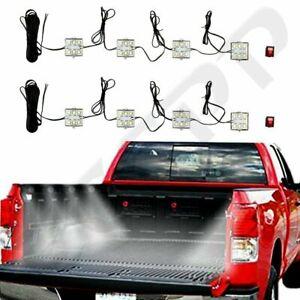 8pcs Truck Bed White Led Lighting Light Kit For Chevy Dodge Pickup GMC Trucks