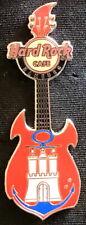Hard Rock Cafe Hamburg - Anchor Crest Guitar Pin