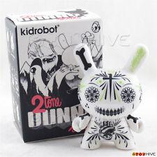 Kidrobot Dunny 2010 2tone series white vinyl figure by Maxx242 with original box