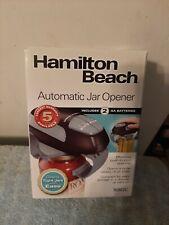 Vintage Hamilton Beach Automatic Jar Opener Model 76802C Brand New
