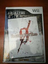 RESIDENT Evil ZERO  * Wii *  ¡NUEVO, PRECINTADO!