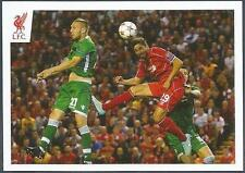 PANINI LIVERPOOL STICKER-2014/15- #118-FABIO BORINI HEADER