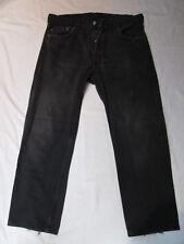 """Vintage Levi 501 Jeans 'Black' -  Size 35"""" / short leg"""