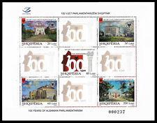 "ALBANIA 2020 - ""100 YEARS OF ALBANIAN PARLIAMENTARISM"" - Set MNH"
