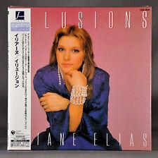 ELAINE ELIAS Illusions JAPAN '06 Ltd Mini LP CD OBI COCB-53534 NEW Sealed!