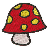 Patche thermocollant écusson patche Champignon rouge patch