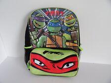 """Teenage Mutant Ninja Turtles Tmnt Backpack School Bag 16"""" Accessory Innovations"""