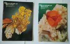 Mineralogical Record 2 Issues from 1994