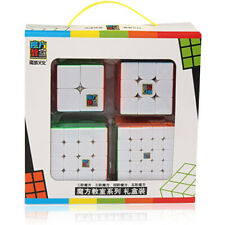 Stickerless Puzzle Cube Set 2x2 3x3 4x4 5x5 Magic Speed Cube Bundle Toys Gift