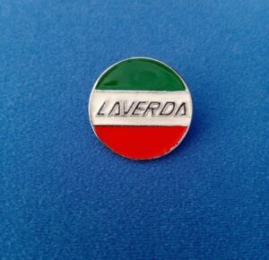 Laverda Small Side Cover Badge 30mm - High Quality Cast Metal Reproduction