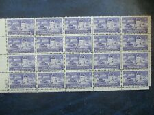 GENERAL GEORGE S. PATTON  plate block of  20 #1026