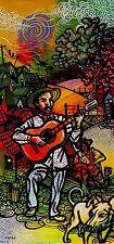 Original Art Arte  Painting Cuban Santiago Cuba Artist LEONARDO RUBIO BRIDON D2