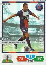 PSG-CH-13 LUCAS # CHAMPION BRAZIL PARIS.SG CARD ADRENALYN FOOT 2014 PANINI