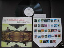 Thelonious Monk Criss-Cross Japan White Label LP 1964