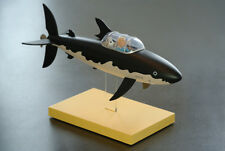 Extremely Rare! Tintin with Snowy in Shark Submarine LE Figurine Statue