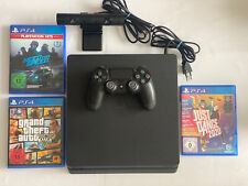 Sony PS4 Slim 1 TB + Controller + Camera + 3 Games