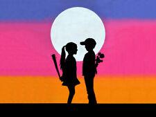 "BANKSY STREET ART CANVAS PRINT love hurts 8""X 10"" poster wide"