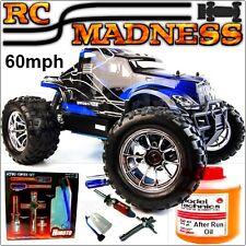 Nitro Truck RC Radio Remote Control Petrol 1/10 4WD 4x4 Big Car Monster Buggy UK