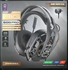 Plantronics Rig 500 Pro HC Cross Platform Gaming Headset With Dolby Atmos| Black
