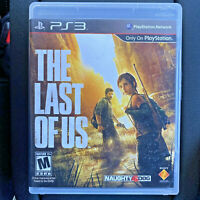 The Last of Us (Sony PlayStation 3 2013) PS3 Tested Action Zombie Game NO Manual