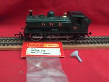 TRIANG/HORNBY R.015S GWR PANNIER TANK LOCO WITH SMOKE IN V.G.C.& WORKING ORDER