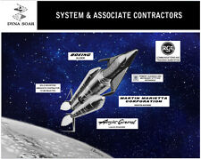Space Shuttle Mission DYNA SOAR USAF Glider Giclee Art Print NASA Space 16 x 20