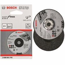 Bosch Schruppscheibe Expert for Inox A 30 Q BF 76x4x10mm 2608601705 2er Pack