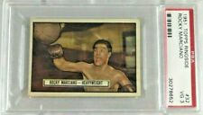 ROCKY MARCIANO RC 1951 TOPPS RINGSIDE #32 ROOKIE CARD PSA 3 VG