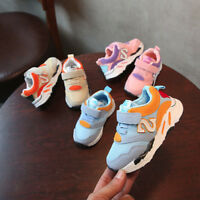 Kids Baby Boys Girls Shoes Sneakers Toddler Casual Trainers Sport Running Shoes