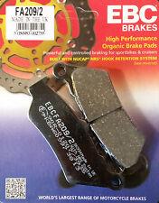 EBC/FA209/2 Brake Pads (Front) - BMW G650GS, G650 Xchallenge / Xcountry, F800GS