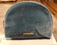 MIU MIU Velvet Pouch Pochette Makeup Tiffany Baby Blue e45e86594c588
