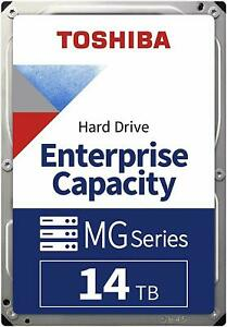 Toshiba Enterprise 14TB 7200RPM 256MB Cache SATA3 3.5 HDD Hard Drive MG07ACA14TE