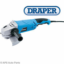 Draper 20505 Angle Grinder 2100W 230mm 240v Heavy Duty Cutting Grinding Disc 9""