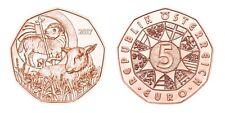Österreich 5 Euro Kupfer unc 2017  Osterlamm