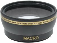 XIT 52mm  0.43x High Definition AF Wide Angle Lens