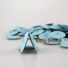 60pcs Dental Lab Dremel Rotary Tool Burs Silicone Polishers Wheels Disk Blue