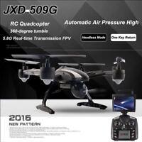 FPV 2.4Ghz 4CH JXD509G RC 6-Axis Quadcopter Drone with 2MP HD Camera RTF UFO UAV