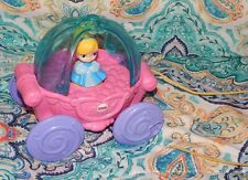 Fisher Price Disney Baby Princess Cinderella Musical Carriage Pull Toy 12-36 Mos