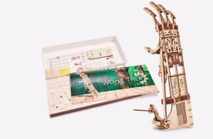 Wood Trick Hand 3D Mechanical Puzzle Model Assembly DIY Kit