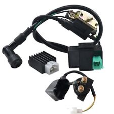 Relay Solenoid CDI Coil Rectifier 110cc 125cc PIT Quad Dirt Bike ATV Buggy
